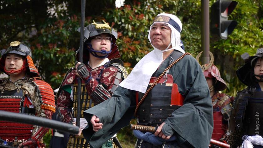 Mounted Samurai at Odawara Hojo Godai Festival