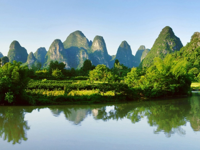 Li River in Guilin, China