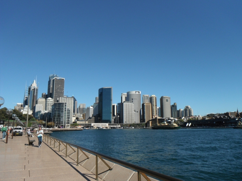 Circular Quay and the Rocks