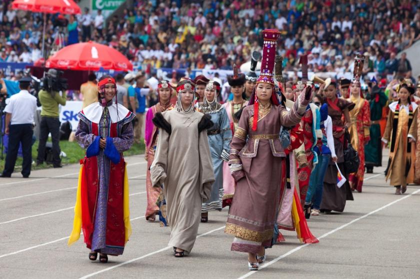 Naadam Festival parade