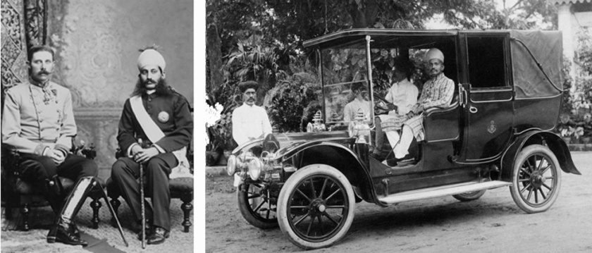 Dayal captured a wealth of images of both the British and indian ruling classes