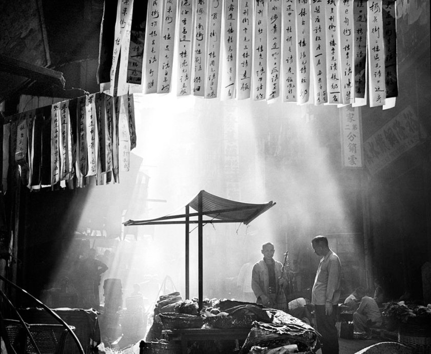 Hong Kong street vendor