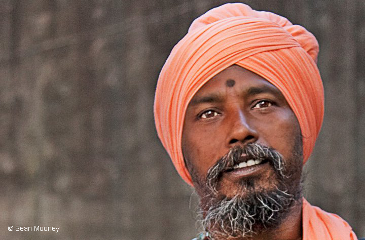 Turbaned man