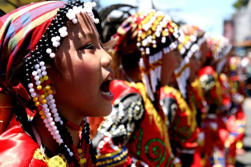 Kadayawan Festival performers
