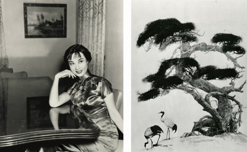 Left: actress Li Hua; Right: Chiin-san Long. Photos by Lang Jingshan.