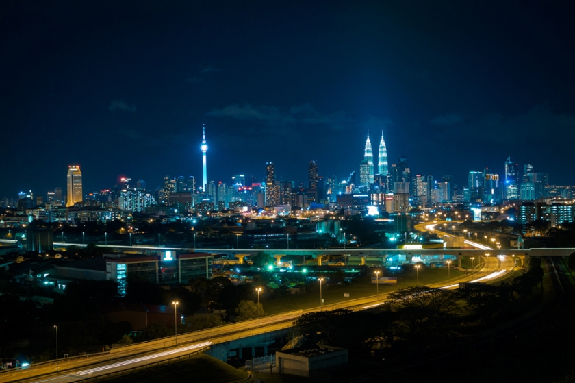 KL Night scene