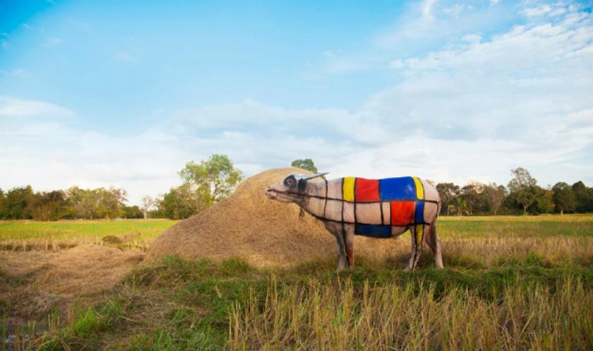 Mosaic Buffalo